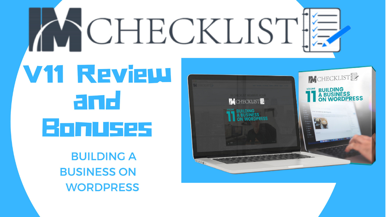 IM Checklist V11 Review and Bonuses